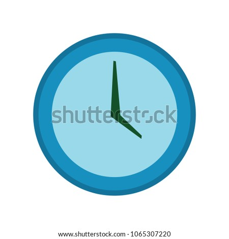clock icon vector clock illustration time stock vector royalty free