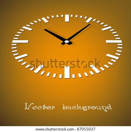 clock vector - stock vector
