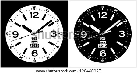 Watch Face Stock Images Royalty Free Images Amp Vectors