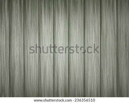 close-up look at green wooden plank texture background  - stock vector