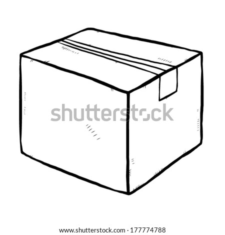 Hand Drawn Box Stock Images Royalty-Free Images U0026 Vectors | Shutterstock