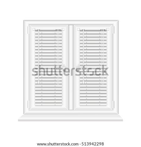 Window Shutters Stock Images RoyaltyFree Images Vectors