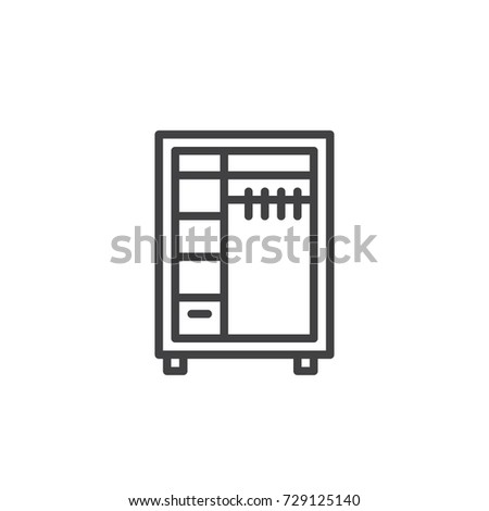Closet symbol stock images royalty free images vectors for Closet icon