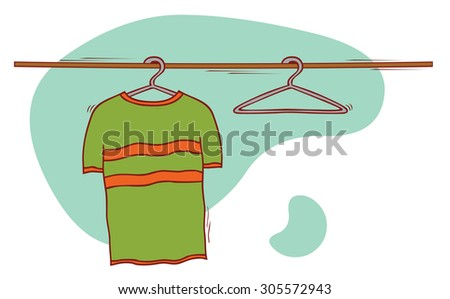 cloth and hangers