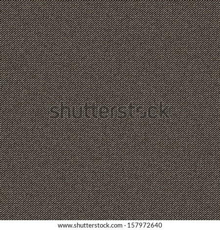 Cloth texture, seamless background pattern, vector illustration - stock vector
