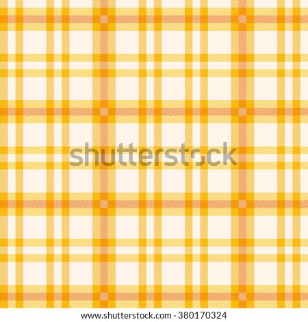 Cloth with orange pattern  - stock vector