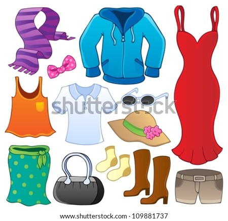 Cartoon Clothes Stock Images, Royalty-Free Images ...