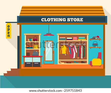 shopping and clothing