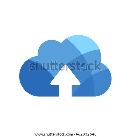 cloud  data vector  icon