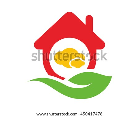 cloud house icon 1