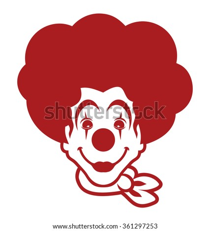 clown vector icon