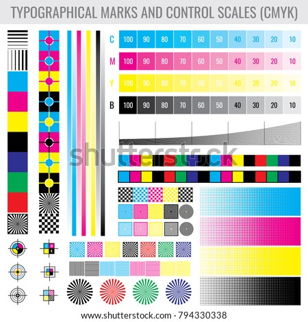 color calibration page - calibration stock images royalty free images vectors