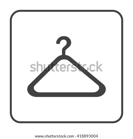 Coat Check Sign On White Background 42472456