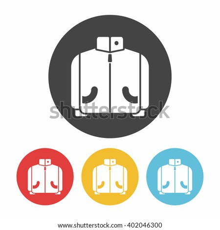 Lab Coat Line Icon Stock Vector 309816311