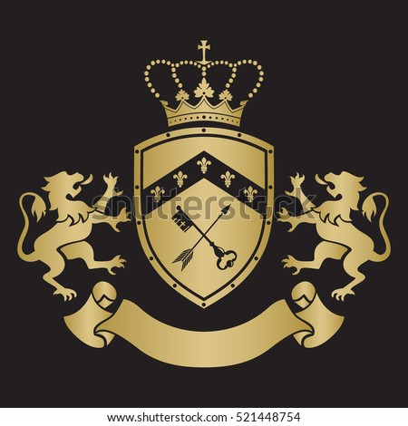 Coat Of Arms Lion Stock Images Royalty Free Images