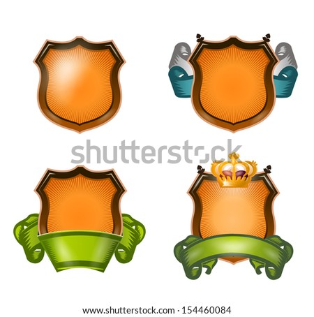 Coat of arms. Vector Format - stock vector