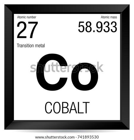 cobalt periodic table square wwwpixsharkcom images