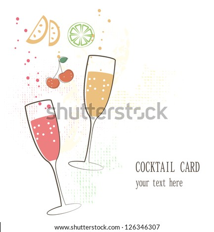 Cocktail card