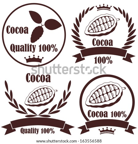 Cocoa. Vector Illustration