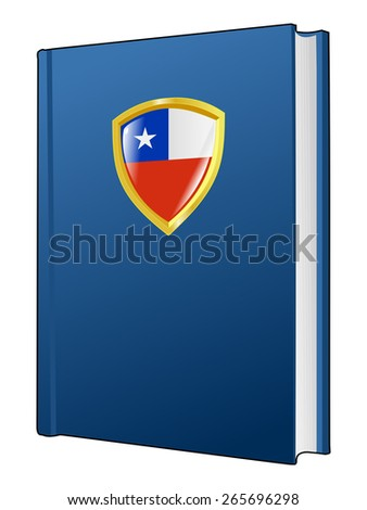 code of laws of Chile - stock vector