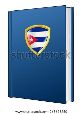 code of laws of Cuba - stock vector