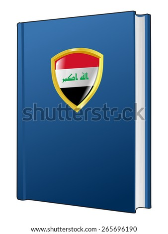 code of laws of Iraq - stock vector