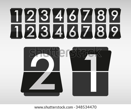 Codes and digits icons graphic design, vector illustration eps10 - stock vector