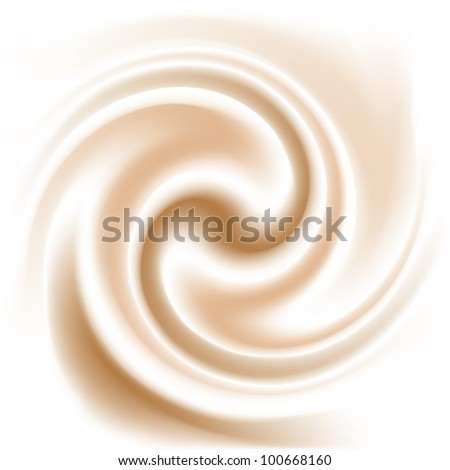 coffee and milk cream  texture - stock vector