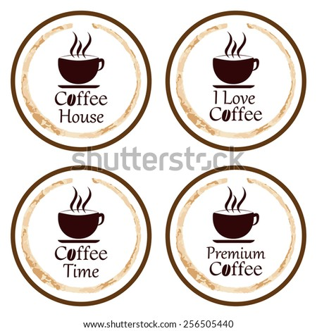 coffee background for coffee coaster