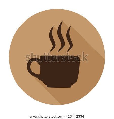 coffee cup icon, coffee cup icon flat, coffee cup icon vector, coffee cup icon jpg, coffee cup icon picture, coffee cup icon app, coffee cup icon web, coffee cup icon flat, coffee cup icon object - stock vector