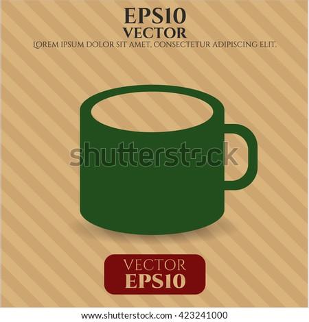 Coffee Cup icon, Coffee Cup icon vector, Coffee Cup icon symbol, Coffee Cup flat icon, Coffee Cup icon eps, Coffee Cup icon jpg, Coffee Cup icon app, Coffee Cup web icon, Coffee Cup concept icon - stock vector