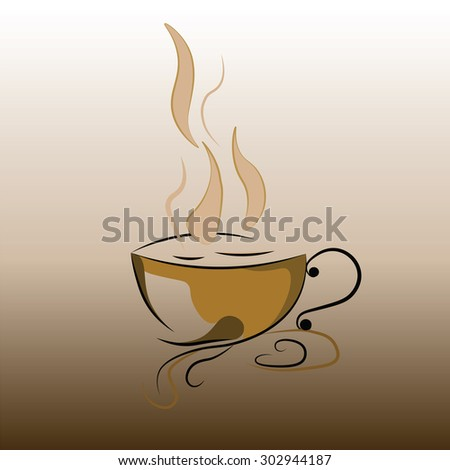 Coffee cup icon. Coffee Time. Vector