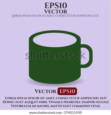 Coffee Cup symbol - stock vector