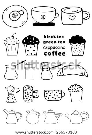 Coffee Doodles design