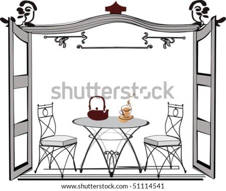 Coffee-house - stock vector