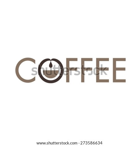Coffee logo - stock vector