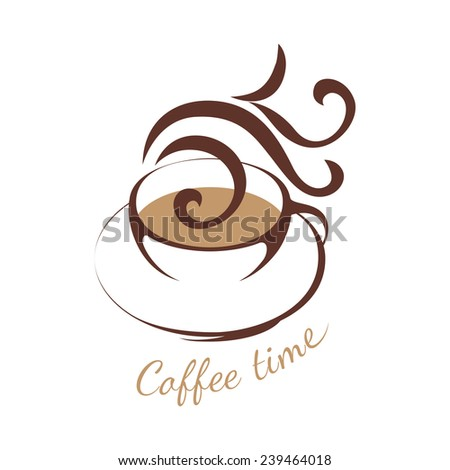 coffee cup logo template - photo #14