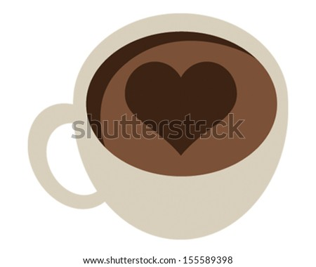 Coffee Love - stock vector