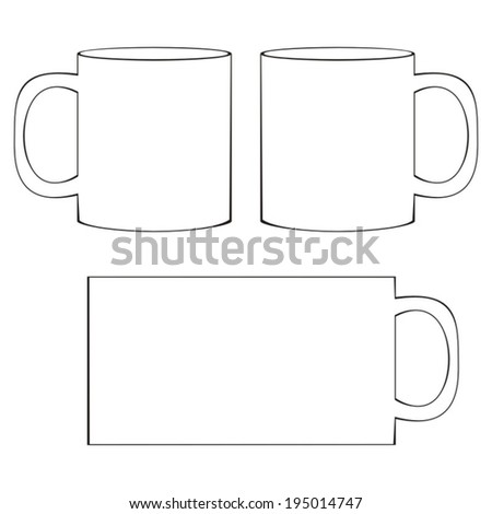 Mug Template Stock Images, Royalty-Free Images & Vectors ...