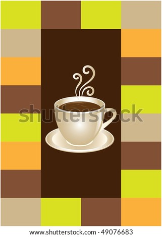 Coffee or chocolate cup