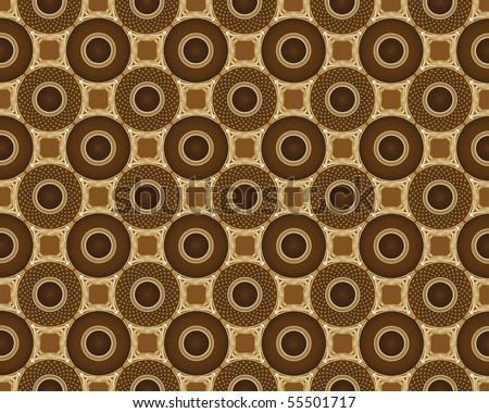 coffee pattern 2 - stock vector