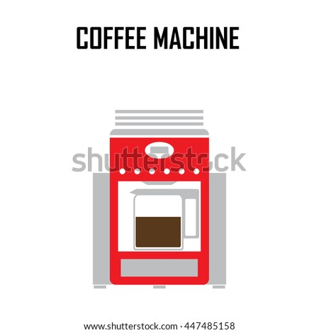 coffee roaster machine vector illustration.