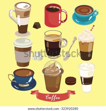 Coffee Vector Design Illustration - stock vector