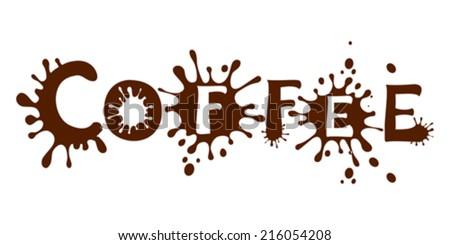 Coffee. Vector illustration.  - stock vector