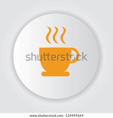Coffee zone,sign,vector - stock vector