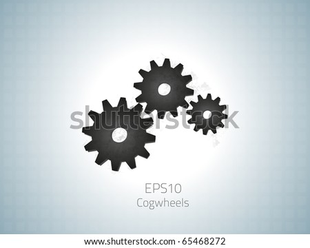 Cogwheels for your design. Fully vector, enjoy! - stock vector