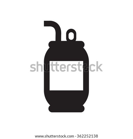 cola can - stock vector