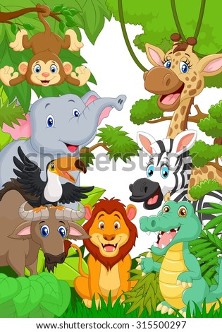 Jungle Animals Stock Images Royalty Free Images Amp Vectors