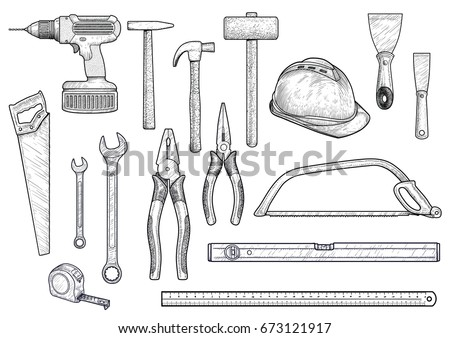 Drawing tools stock images royalty free images vectors for Online drafting tool