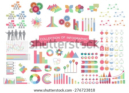 Collection-Business-Concept-Infographic ;Vector Illustration - stock vector